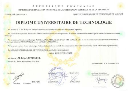 Diplome_DUT